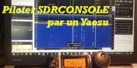Piloter SDRCONSOLE PAR UN YAESU